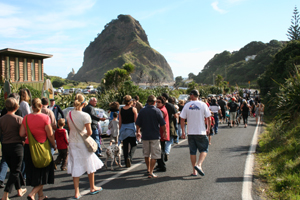 Anzac Day in Piha